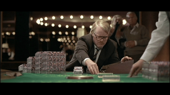"Phillip Seymour Hoffman in ""Owning Mahoney"""