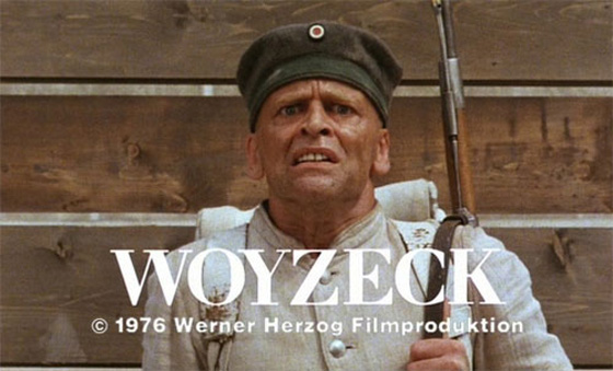 """The 'It' from """"Woyzeck"""" to """"Butcher's Crossing"""""""