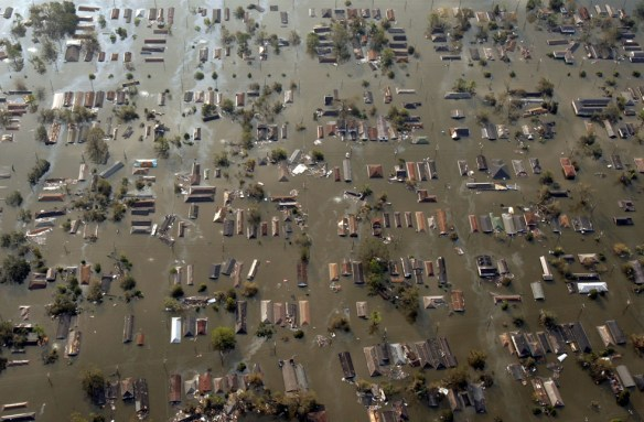 hurricane katrina ninth ward