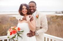 Erin & Lonnie Sandbridge Beach House Wedding