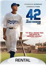 DVD cover for the movie 42