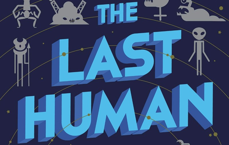 Section of book cover for The Last Human by Zack Jordan