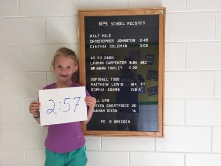 Brighton Johnston, New Girls School Record Holder