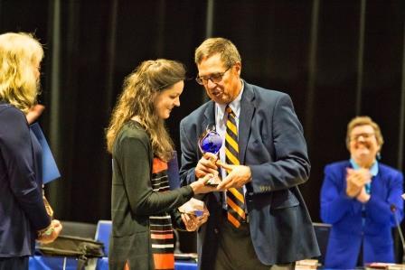 Brittney Nadratowski, 2016 Teacher of the Year