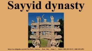 sayyid dynasty rule