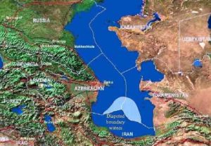 caspian sea - important lakes of the world
