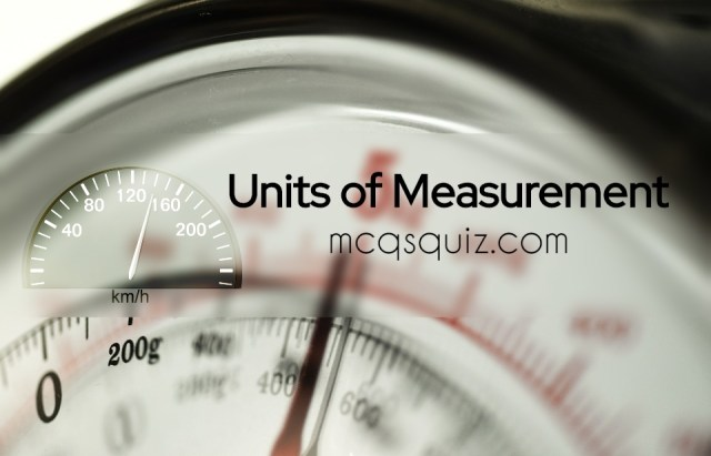 unit-of-measurement-mcqs