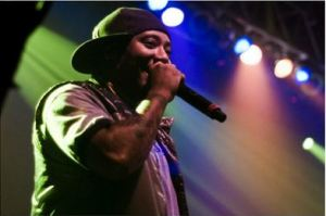 Maino, pictured above, performs at an event. His tweet serves as a reminder that MC needs a social media overhaul. Photo courtesy of Creative Commons.