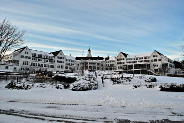 The students stayed at the Sagamore Resort in Lake George, NY.