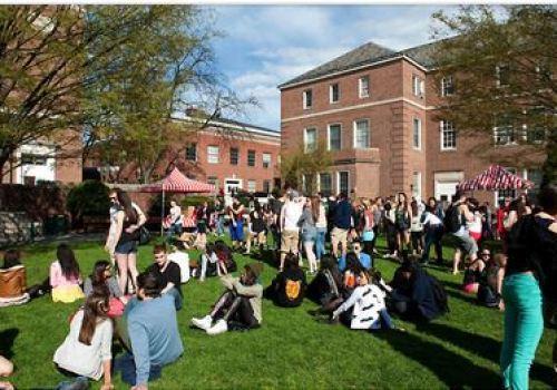 Above, students enjoying SpringFest 2013. Photo courtesy of Creative Commons Flickr.