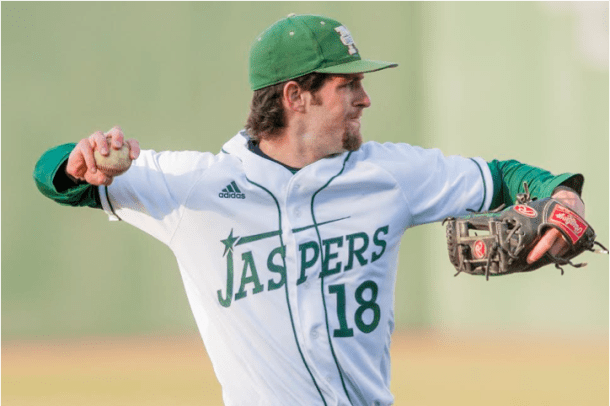 Scott (top) and Joe McClennan know a thing or two about sibling rivalry off the field, but on the field, they wear the same jersey and work for the same goal. Photo courtesy of gojaspers.com