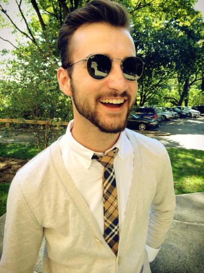 Social Media Editor Sean McIntyre. Photo courtesy of Sean McIntyre.