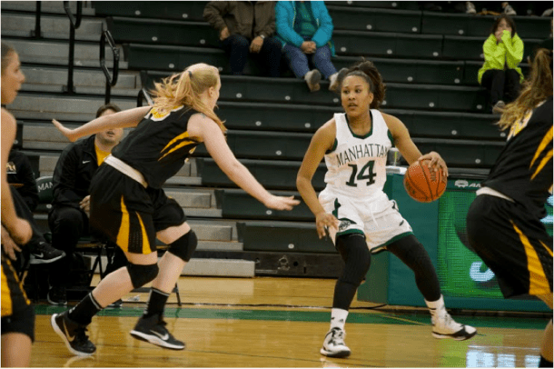 Taylor Williams is one of the five freshmen making an impact on the team. Photo by Kevin Fuhrmann.