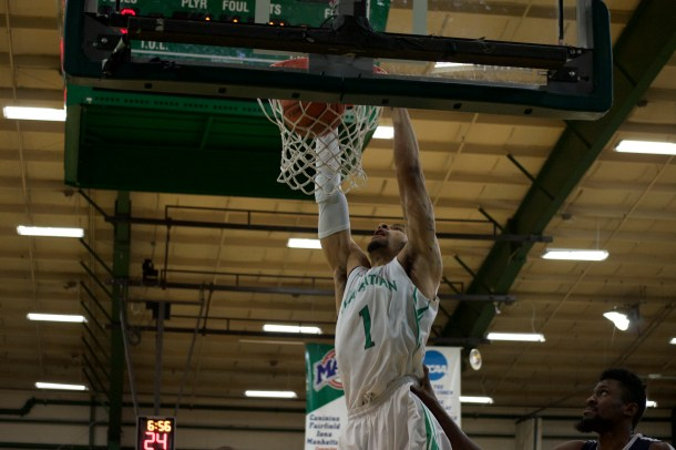 Pankey led the way for the Jaspers. Photo by Kevin Fuhrmann