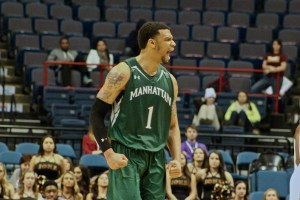 Pankey is on an offensive rampage lately, backed up by winning the MAAC Tournament MVP. Photo by Kevin Fuhrmann.
