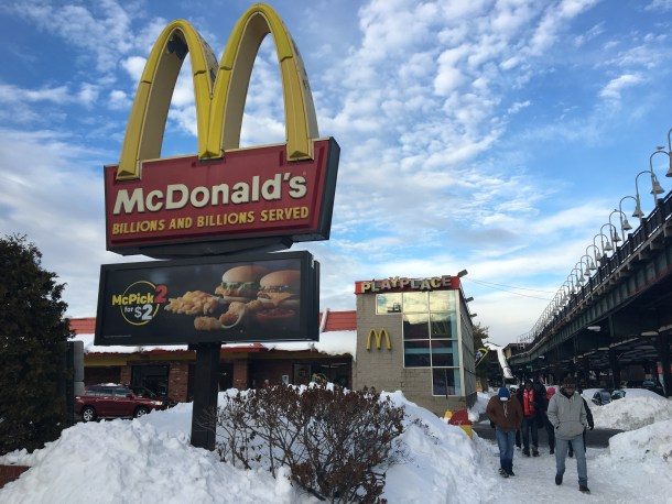 The McDonald's frequently used by students located on 5675 Broadway. Vanessa Sanchez/The Quadrangle