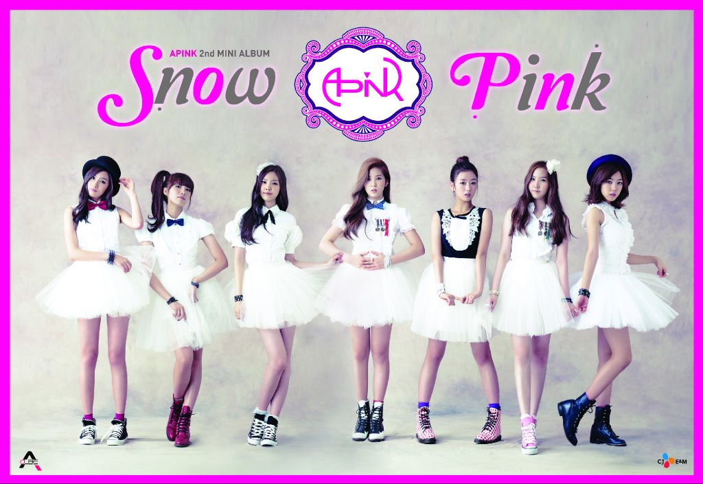 Wallpaper Girl Band Korea Review Album A Pink Snow Pink Mcroth S Residence