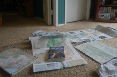 We use a number of resources to plan our hikes.