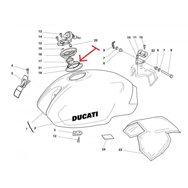 MCSO , PERFORMANCE , 88640111A , DUCATI , 800IE , MONSTER