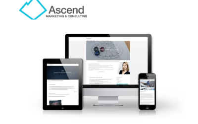 Construction Website Designed by Ascend Marketing
