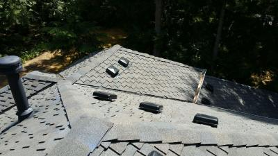 High Profile Ridge Cap with Venting
