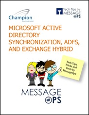 MS-Active-Directory-Sync-ADFS-and-Exchange-Hybrid-Cover
