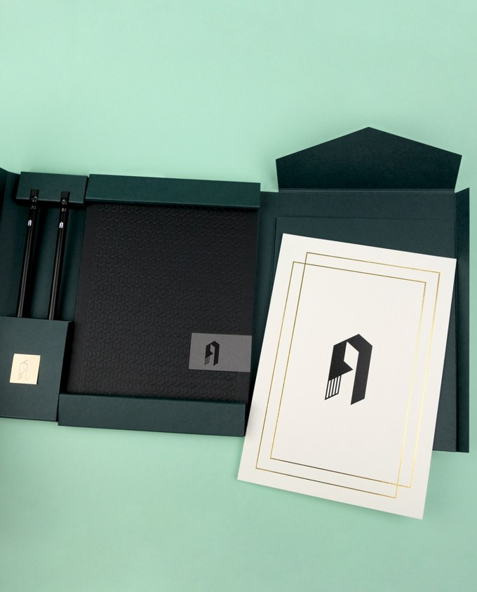 Personalised Stationery Gift Pack