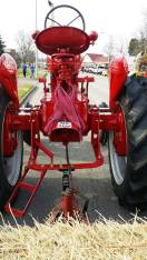 Back of tractor