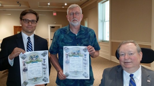 New Members George Shields and Charles Ogle