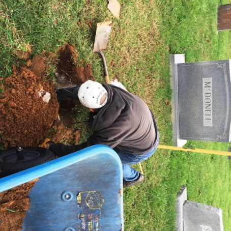 Setting Cupp stone in Nov 2015