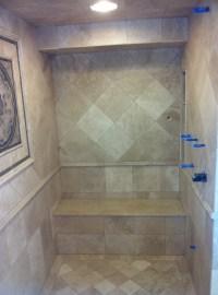Shower Seat  MC Tile Design Inc.