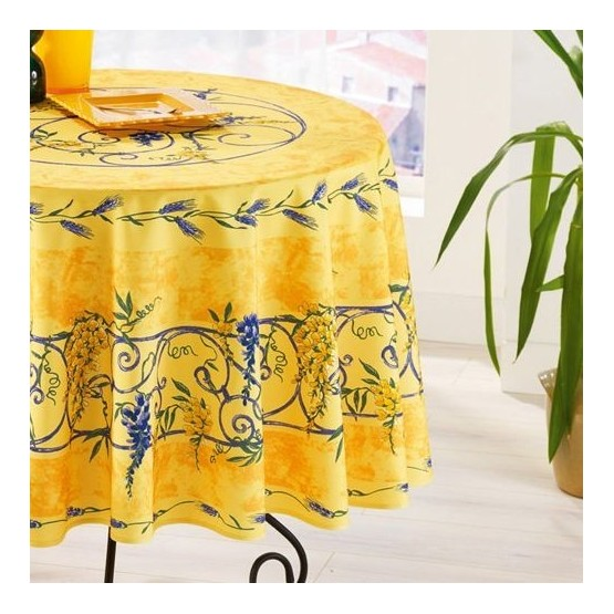 Nappe Polyester Sans Repassage