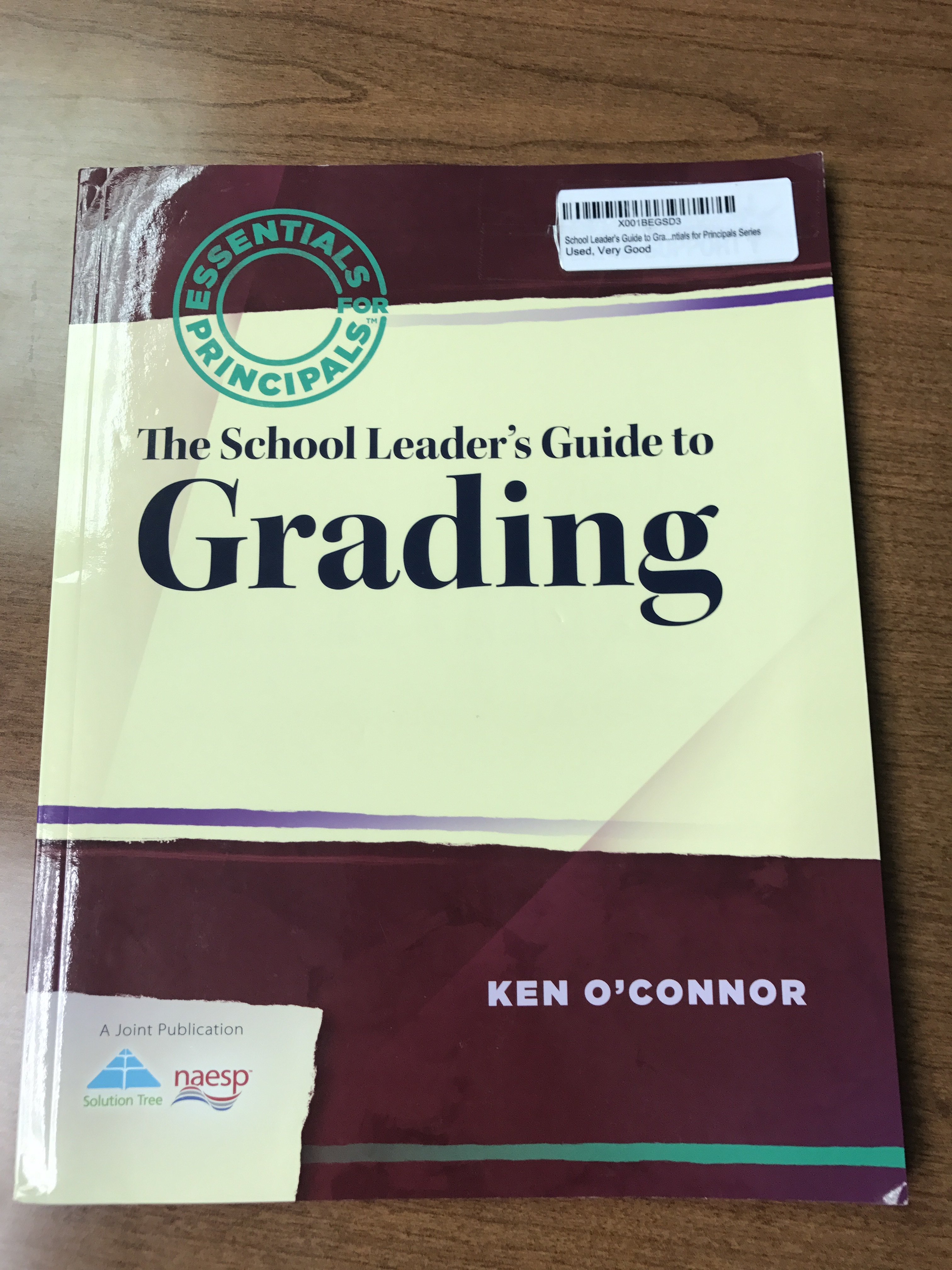 matt townsley the school leader s guide to grading book review