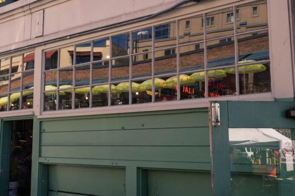 Seattle, Pike Place Market, Reflection, Window, Market