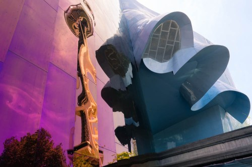Architecture, Gehry, Seattle, EMP
