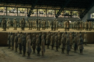 Pictures of Xian Terracotta Warriors in Xi'an China by Mary Catherine Messner