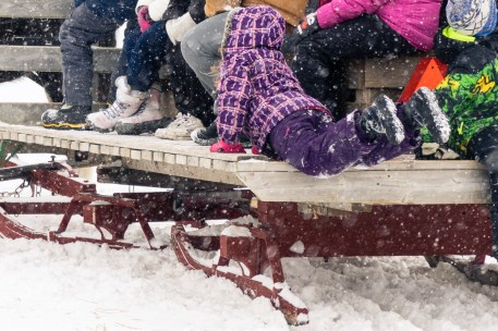 Picture of Festival du Voyageur in Winnipeg Manitoba Canada by mcmessner Mary Catherine Messner