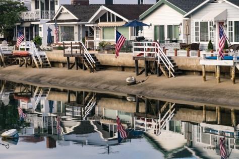 Pictures of Balboa Island, Newport Beach, California, USA.