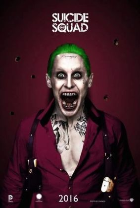 """Jared Leto as the Joker, """"Suicide Squad"""""""
