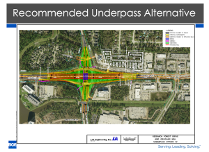 Noack puts brakes on Woodlands underpass project; will coordinate new mobility study