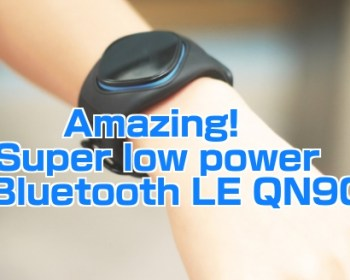 Amazing low power Bluetooth LE