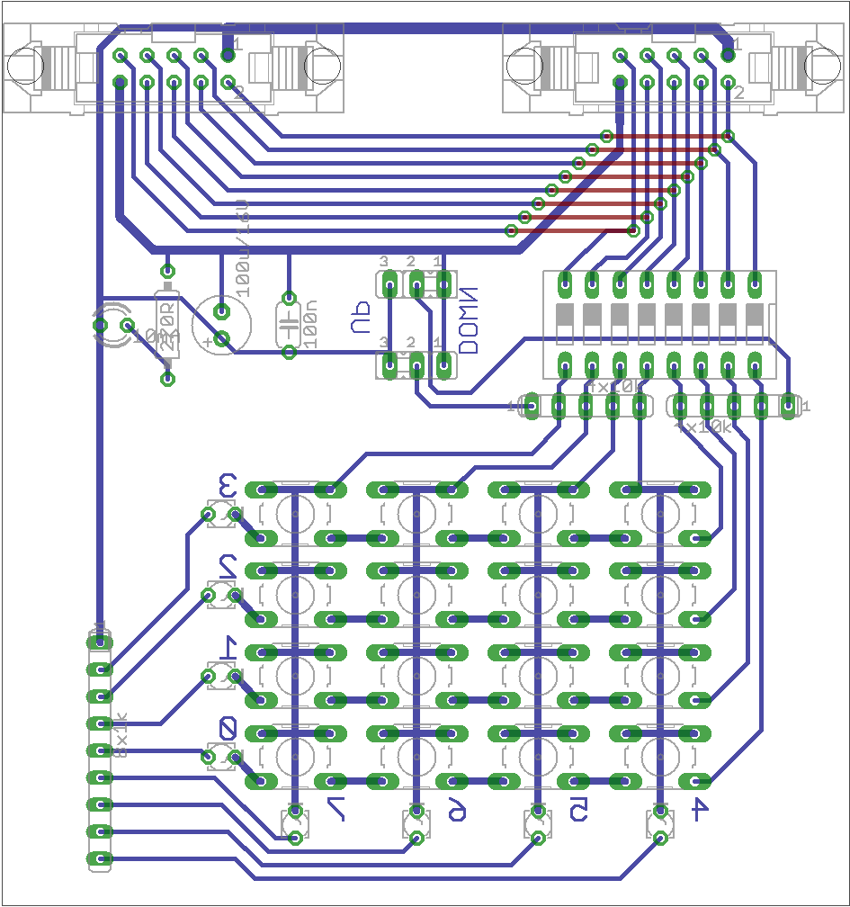 hight resolution of 4 pcb in detail
