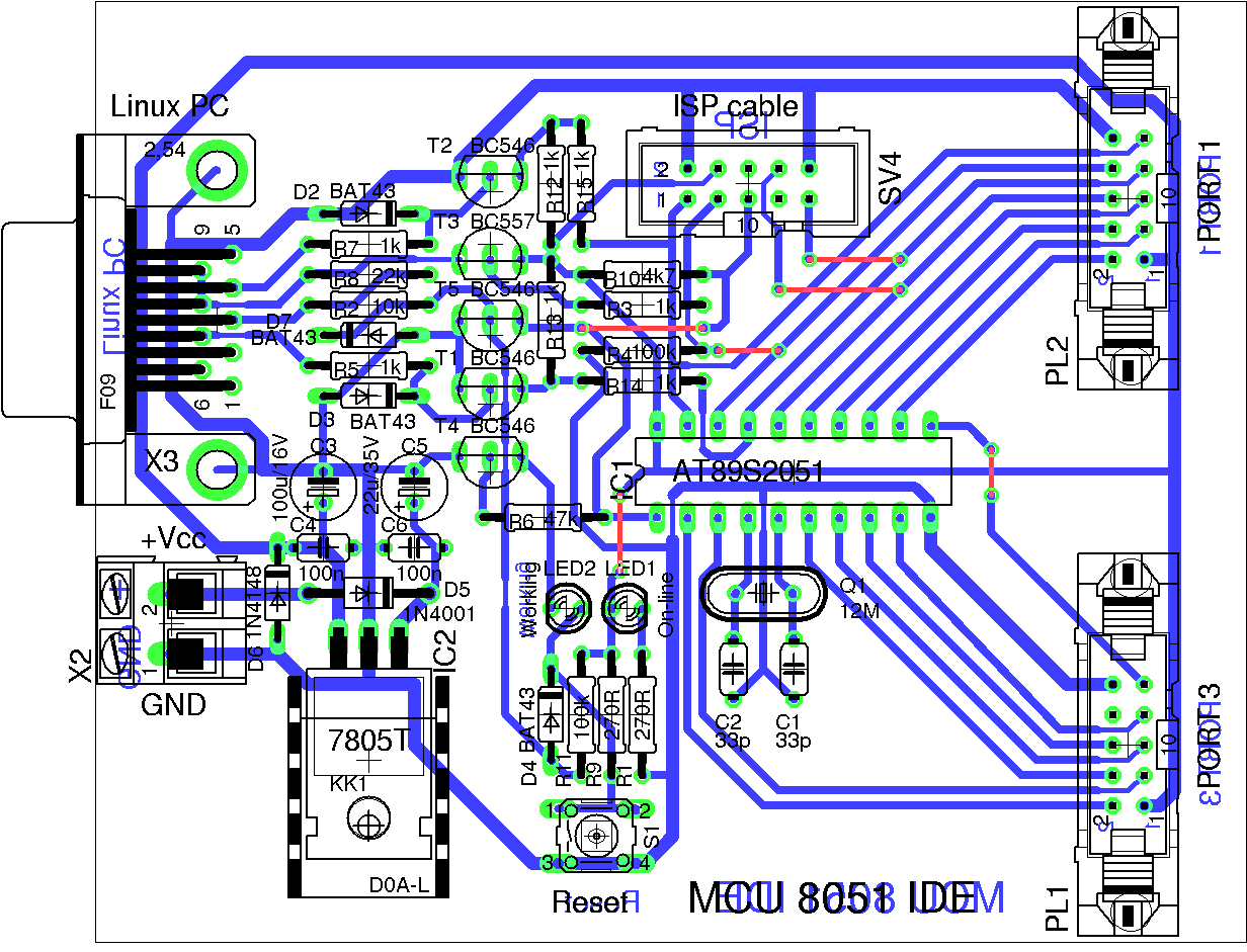 hight resolution of photo of the pcb