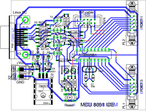 small resolution of photo of the pcb