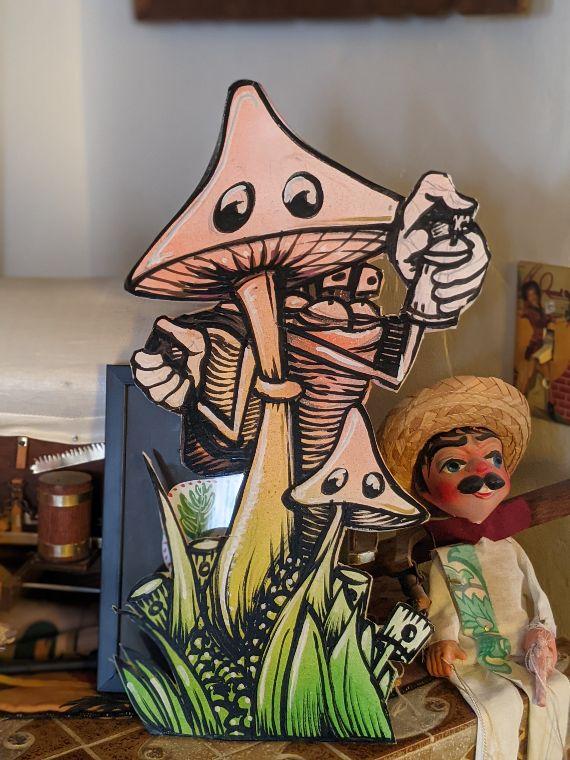 Mushroom art by Chris Granillo