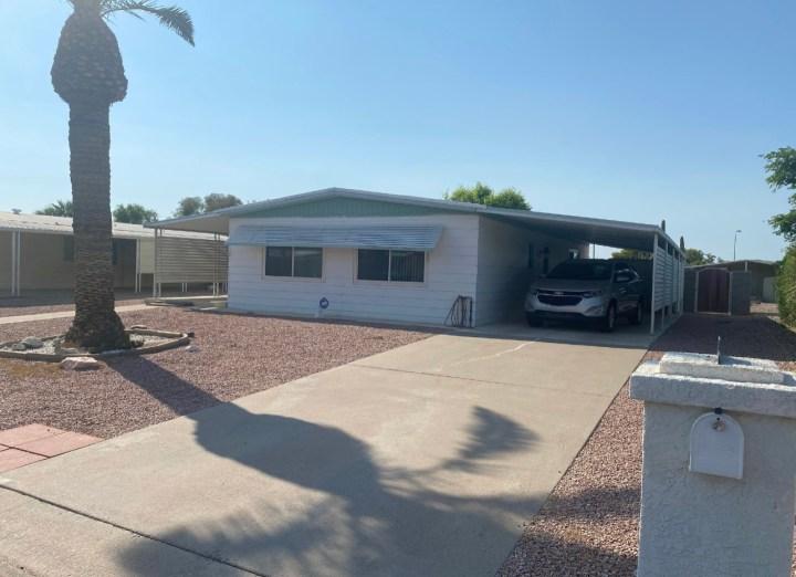 8918 E Michigan Ave, Sun Lakes AZ 85248 wholesale property listing mobile home for sale