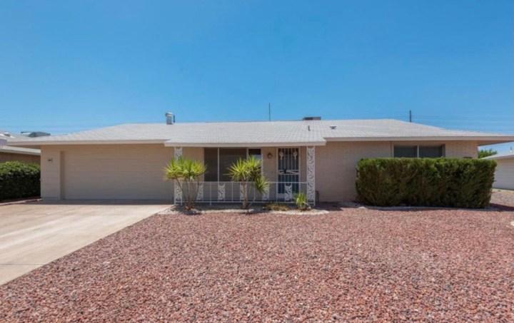 11430 N Blue Ridge Dr, Sun City AZ 85351 wholesale property listing for sale