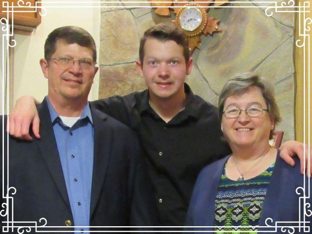 Dave, Patti & Michael in October