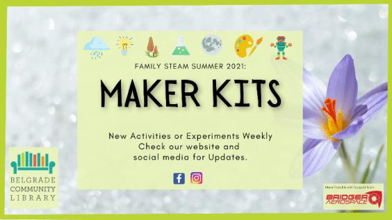 Summer Family Steam Maker Kits