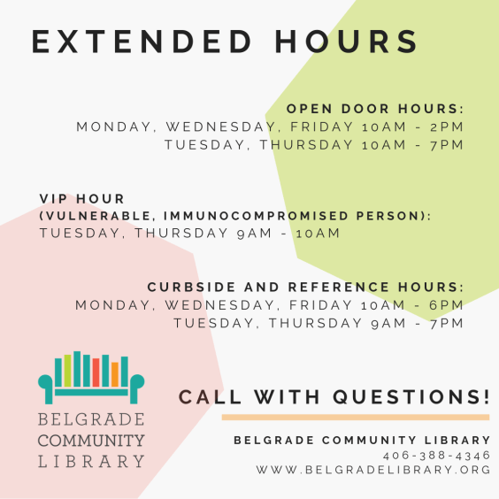 Extended Open Hours Info